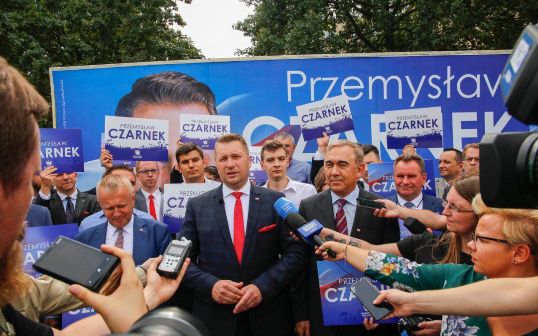Start kampanii Czarnka do Sejmu