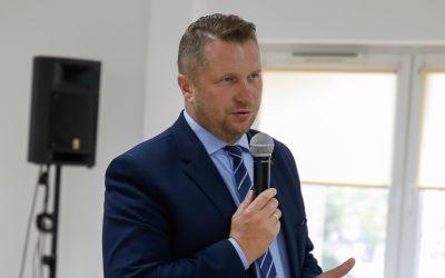 Przemysław Czarnek z wizytą w powiecie lubartowskim