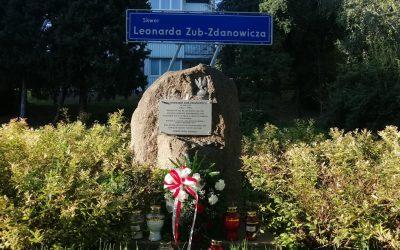 """38. rocznica śmierci ppłk. NSZ Leonarda Zub-Zdanowicza ps. """"Ząb"""""""