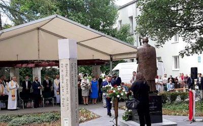 Odsłonięcie pomnika Kardynała Stefana Wyszyńskiego na lubelskich Bronowicach