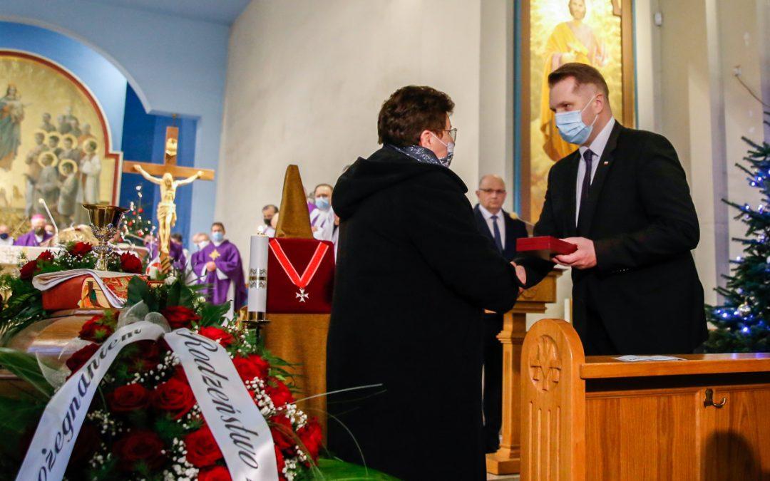 Uroczystości pogrzebowe śp. ks. prof. Andrzeja Maryniarczyka