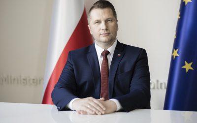 Wywiad z Ministrem Edukacji i Nauki Przemysławem Czarnkiem