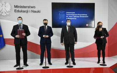 Projekt ustawy o zmianie nazwy Uniwersytetu Technologiczno-Przyrodniczego im. Jana i Jędrzeja Śniadeckich