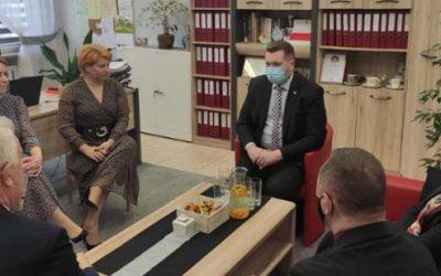 Wizyta Ministra Edukacji i Nauki w Zespole Szkół w Krasnobrodzie