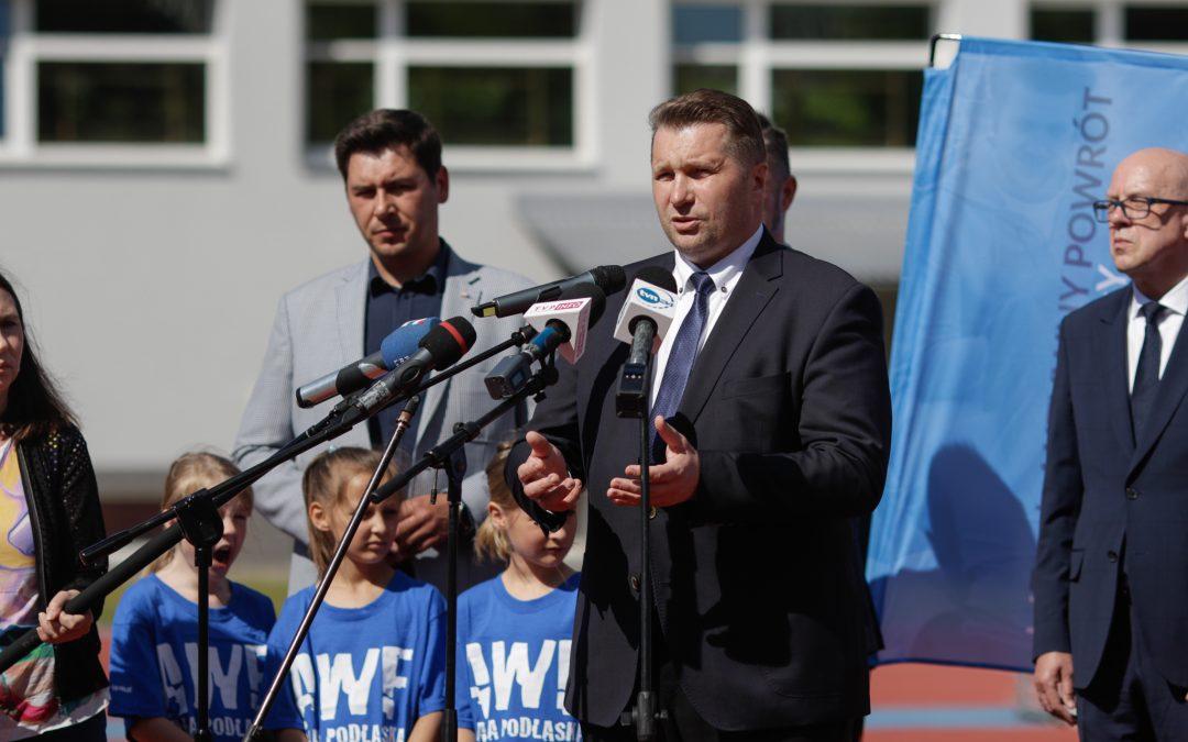 """Inauguracja pilotażowych zajęć dla dzieci w ramach """"WF z AWF"""""""