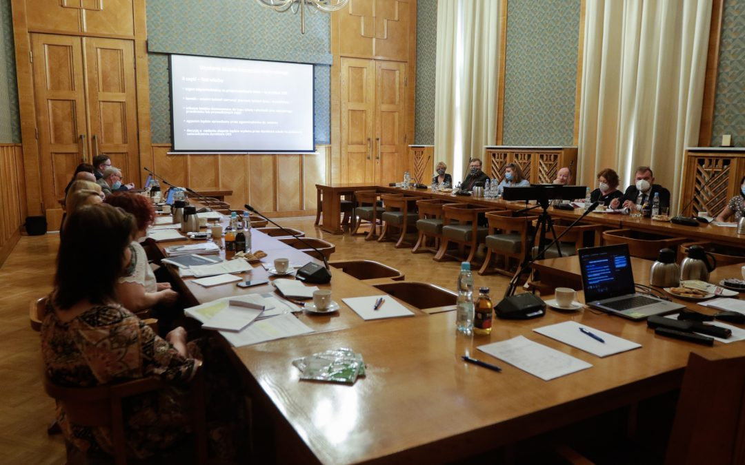 Pierwsze spotkanie grupy roboczej do spraw systemu awansu zawodowego nauczycieli