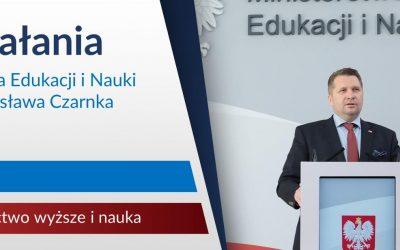 Dokonania Ministra Edukacji i Nauki Przemysława Czarnka