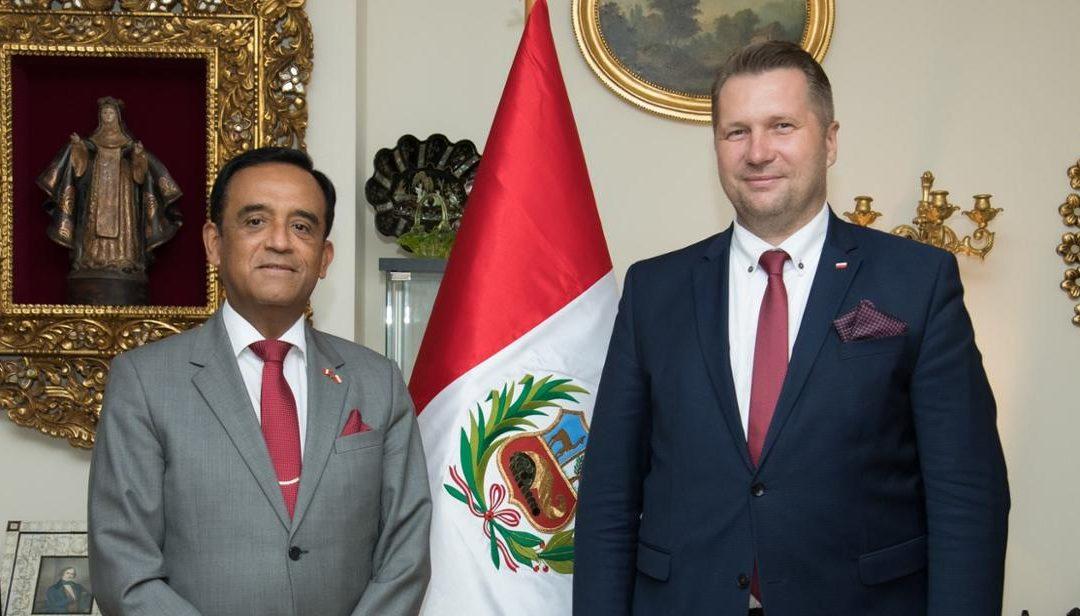Spotkanie z Ambasadorem Peru w Polsce