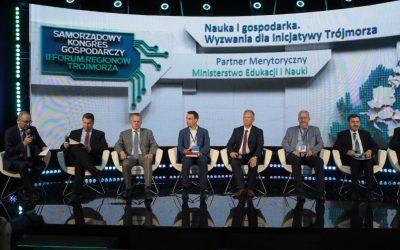 """""""Nauka i gospodarka. Wyzwania dla Inicjatywy Trójmorza"""" ‒ panel w ramach II Forum Regionu Trójmorza"""