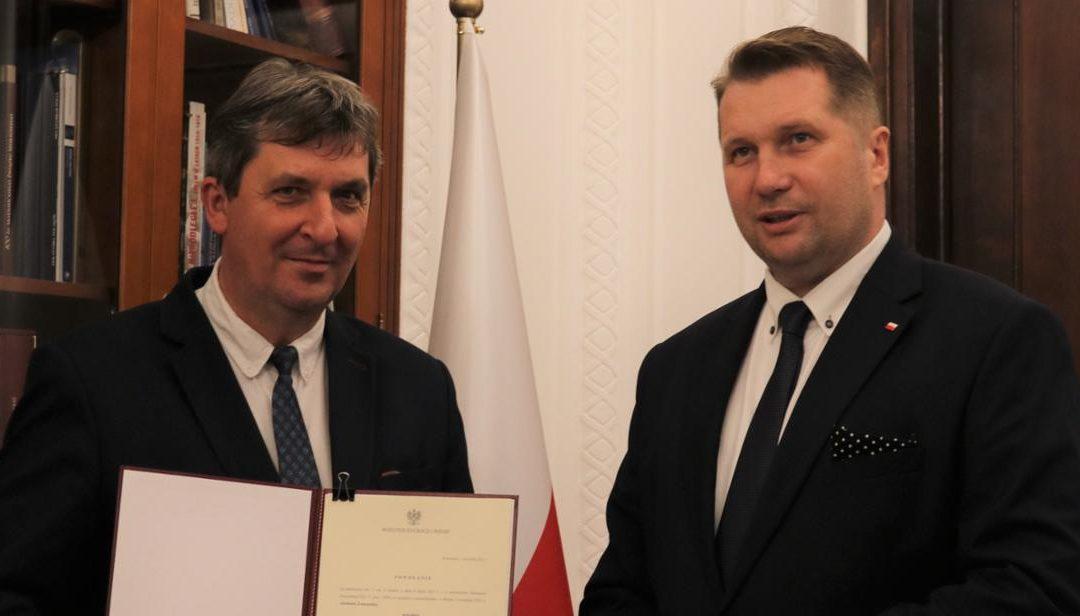 Dr hab. Paweł Skrzydlewski Rektorem Akademii Zamojskiej