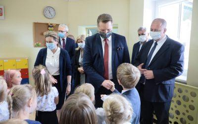 Wizyta w Katolickiej Szkole Podstawowej im. Świętej Rodziny w Olsztynie