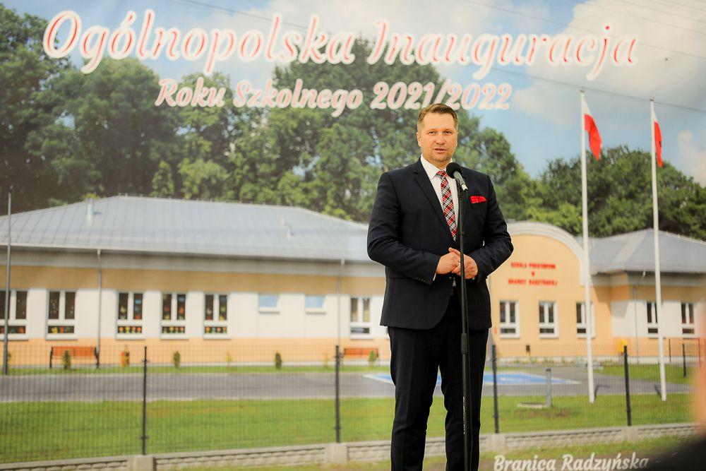 Ogólnopolska inauguracja roku szkolnego 2021/2022 z udziałem Prezesa Rady Ministrów oraz Ministra Edukacji i Nauki