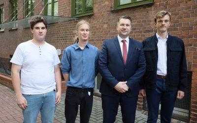 Spotkanie z uczniami i nauczycielami XIII Liceum Ogólnokształcącego Katolickiego w Olsztynie