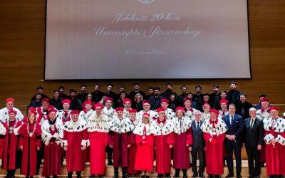 Jubileusz 20-lecia Uniwersytetu Rzeszowskiego