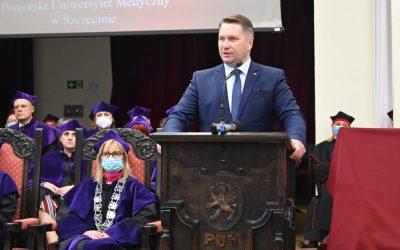 Inauguracja roku akademickiego na Pomorskim Uniwersytecie Medycznym w Szczecinie