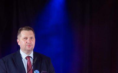 """Minister Przemysław Czarnek gościem gali finałowej konkursu """"Nauka dla Ciebie"""""""