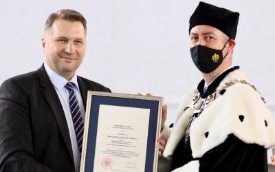 Inauguracja roku akademickiego 2021/2022 na Akademii Wychowania Fizycznego Józefa Piłsudskiego w Warszawie