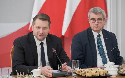 Spotkanie Ministra Edukacji i Nauki z Prezydium KRASP