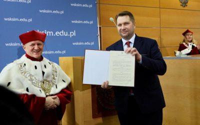 Inauguracja roku akademickiego na Akademii Kultury Społecznej i Medialnej w Toruniu